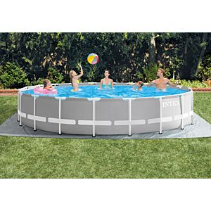 26756 - INTEX PRISM FRAME POOL (6.10 m x 1.32 m) ROUND