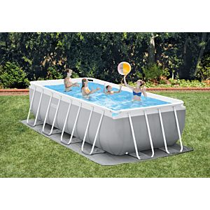26792 - INTEX PRISM FRAME POOL (4.88 m x 2.44 m x 1.07 m) RECTANGULAR