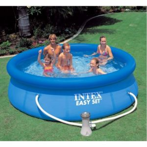 28112 - INTEX EASY SET POOL (2.44 m x 76 cm) ROUND