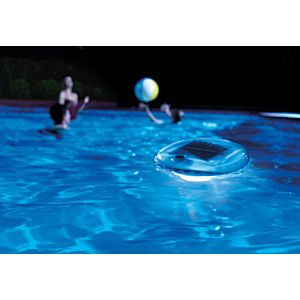28695 - SOLAR POWERED LED FLOATING POOL LIGHT