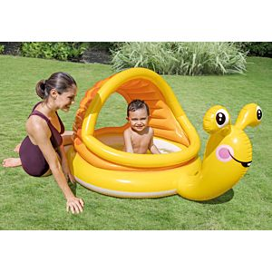 57124 - LAZY SNAIL SHADE BABY POOL
