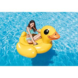 57556 - YELLOW DUCK RIDE ON