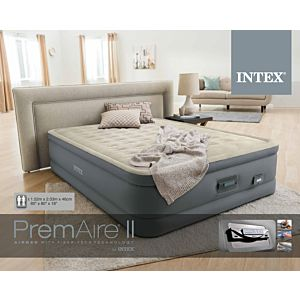 64926 - QUEEN PREMAIRE® II AIRBED 152 X 203 X 46CM WITH BUILT-IN ELECTRIC PUMP