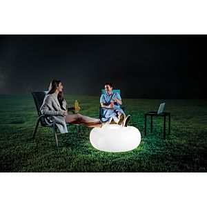 68697 - LED OTTOMAN with rechargeable battery